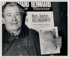 HANS-JOACHIM KULENKAMPFF Bernhard Theater Zürich 1979 * Foto R SEUFERT Stuttgart