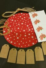 Christmas Jam Jar Covers / Chutney / Red Star
