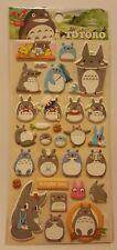 Puffy Kawaii My Neighbor Totoro Puffy Stickers Sheet Stationary