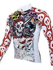 Paladin Pirates Cycling Long Sleeve Jersey Winter Size M Uk 40-41.