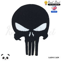 Punisher Movie Comics Embroidered Iron On Sew On Patch Badge For Clothes Bag etc