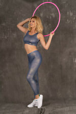 MERRIBEL 818 Luxury Super Soft Decorative Gym / Sports Top and Matching Leggings