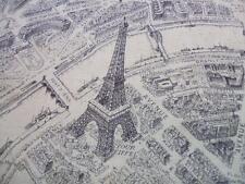 Destination Paris Street Map Seine River French Landmarks Windham Fabric Yard