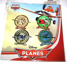 Retired Disney Booster Starter FULL Pin SET✿Pixar Planes Classic Airplanes Dusty