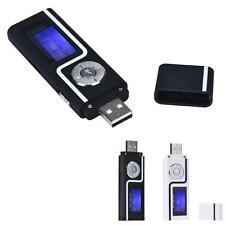 Portable USB MP3 Music Player FM Radio Digital LCD Screen Support 16GB TF Card