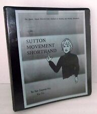 Deaf ASL Sign Language Sutton Movement Shorthand Key American Dance Visual Quick