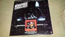 Vtg  Star Wars Empire Strikes Back 1980 Darth Vadar soundtrack poster 36X36