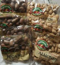 Mixed Nuts in Shell 3 lbs Almonds & 3 lbs Pecans 6 lbs total Ca & Pacific Nw