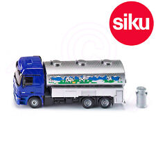 Siku 1939 Mercedes Actros Milk Collecting Truck Opening panels Tanks 1:50 Scale