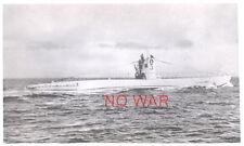 WWII ORIGINAL GERMAN WAR PHOTO KRIEGSMARINE U-BOAT U-3 / U-BOOT