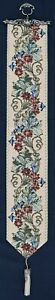 """Tapestry Bell Pull - William Morris floral 114x16cm  45""""x6.5"""" approx size"""