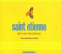 Saint Etienne He's on the phone (1996, feat. Etienne Daho) [Maxi-CD]