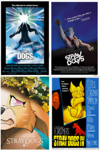 STRAY DOGS #1 2 3 4 3RD / 4TH PRINT HORROR MOVIE VARIANT SET (NM) 2021 IMAGE