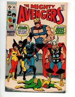 "The Avengers #68 (Sep 1969, Marvel) VF/NM 9.0 ""BUSCEMA-A"""