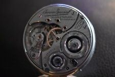 Antique 16s , 21 jewel Illinois Bunn Special Railroad Grade Pocket Watch