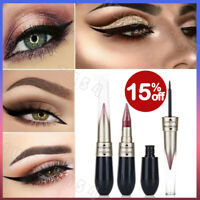 Novel Eyeliner Eyeshadow 2 in 1 Eye Makeup Pencil Metallic Shimmer 6 Colours HOT