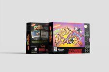 Aaahh!!! Real Monsters [SNES] Repro Ersatzbox | Leerbox | Replacement Box