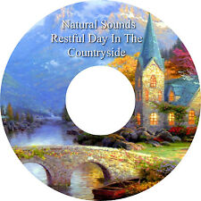 Natural Sounds Countryside CD Relaxation Sleep Aid Stress Relief Healing Calming