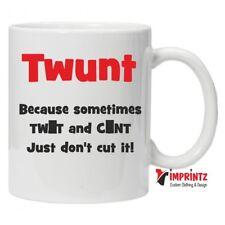 TWUNT - Novelty Mug Funny Birthday Xmas Gift Tea Coffee Humour Work Cup