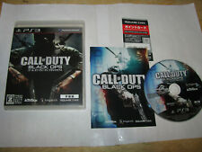 Call of Duty Black Ops Subtitle Playstation 3 PS3 JAPAN IMPORT US Seller