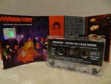 ANNIHILATOR CRITERIA FOR A BLACK WIDOW / 1999 / MC CASSETTE CARCASS, VADER
