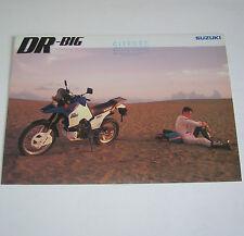 Prospetto/OPUSCOLO SUZUKI DR-BIG 750 S-STAND 1987!