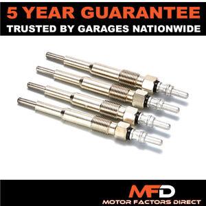 4x For Audi Seat Skoda VW 2.0 TDI 1.9 Diesel Heater Glow Plugs Dual Core