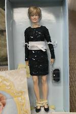 Franklin Mint Princess Diana Vinyl BLUE LACE DRESS Doll RARE COA LE/750 Brochure