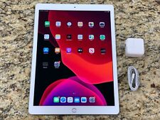 Apple iPad Pro 2nd Gen 64GB Wi-Fi + 4G (Unlocked) 12.9 in Silver CLEAN ESN #i7