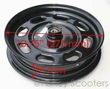 "Peace Sports TPGS-805 50cc Gas Scooter Front Rim 10"" COLOR IN BLACK"