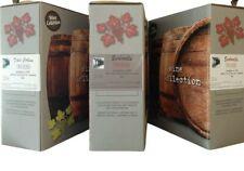 3 bag in box da 5 litri vino rosso fermo profumato Barbera Dolcetto 12/13 gradi