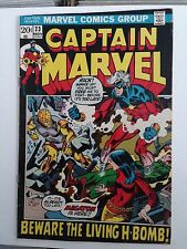 Captain Marvel #23 (Nov 1972, Marvel) FN-