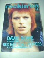 Rockin'on Japan Rock Magazine 1976 David Bowie Red Hot Chili Peppers