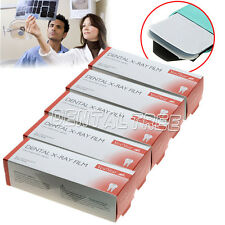 GER 5 Boxes Dental X-Ray Film Size 3CM X 4CM for Reader Scanner Machine