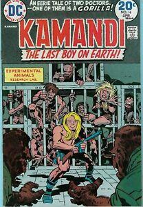 Kamandi the Last Boy on Earth #16 (1974) by Jack Kirby. Origin of Earth  A. D.