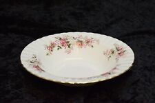 "Vintage Royal Albert Bone China England Lavender Rose 8"" Rimmed Soup Bowl EUC"