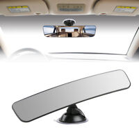 Universal 290mm Car Interior Anti-Glare Rear View Rearview Mirror Flat Suction