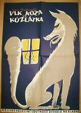Vintage Polish Theatre Poster
