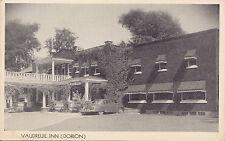 Vaudreuil Inn DORION Quebec Canada 1940-50s Carte Postale Publicitaire Postcard