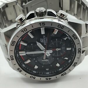 Casio Men's Edifice Chronograph Black Dial Watch EFR-564D-1AVUDF