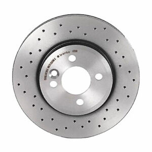 Brembo Xtra Front Brake Disc Rotor Drilled for Mini Cooper R55 R56 R57 R58 R59