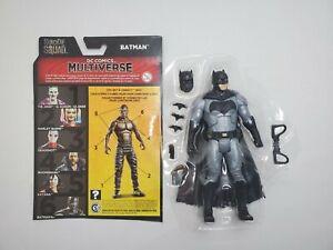 "DC MULTIVERSE 6"" BATMAN FIGURE  SUICIDE SQUAD Killer Croc CNC BAF Ben Affleck"