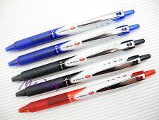 4x Black 4x Blue 2x Red Set Pilot V-BALL RT Retractable Roller Ball Pen 0.5mm