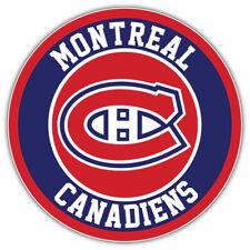 "Montreal Canadiens Logo NHL Sport Car Bumper Sticker Decal ""SIZES"""