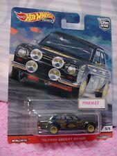 Siluetas '76 Chevy Monza #1/5 Marrón 2019 Hot Wheels Premium Jarno coche