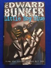 LITTLE BOY BLUE - FIRST RE-ISSUE EDITION SIGNED BY EDWARD BUNKER
