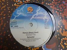 """MAXI 12"""" SYLVESTER Dance / You make me feel BZ 4405"""
