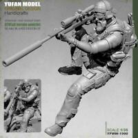 1:35 Pesante Trooper Anteriore soldier stand Resin Model F5X3 E5T5 Kit T3H8