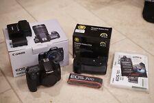 Canon EOS 70D 20.2MP Digital SLR Camera - Body & Battery Grip