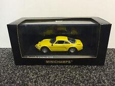 Renault Alpine A110 1971 Yellow 1:43 Minichamps